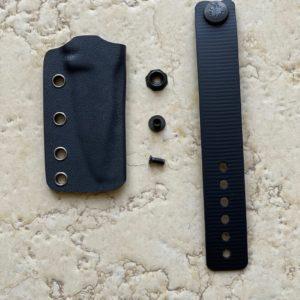 Rectangular Push Dagger Sheath
